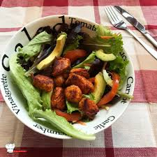avocat cuisine salade composée tomate avocat dinde le gaulois mimi cuisine