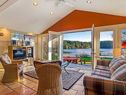 waterfront pet friendly home with tub vrbo