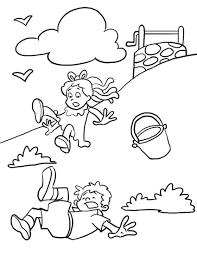 nursery rhyme coloring pages printable coloring