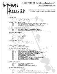 Resume For Painter Best 25 Artist Resume Ideas On Pinterest Resume Photo Resume