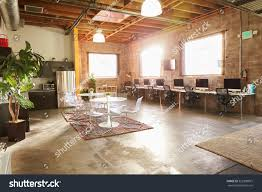Design Office Empty Interior Modern Design Office Stock Photo 352308875