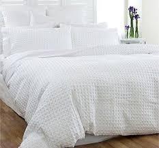 bedroom organic ripple texture duvet cover shams west elm white