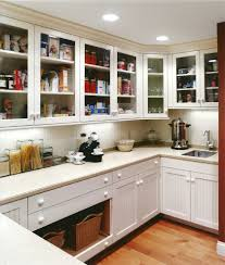 Butlers Pantry Cabinets Pantry Cabinet With Glass Doors Kitchen Traditional With Glass