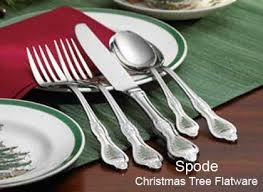 spoce tree casual glassware spode tree cutlery