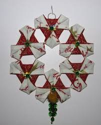 another variation of the fabric ornaments easy but with the