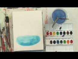 how to make a puddle in watercolor watercolor painting youtube