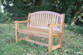 hardwood benches the wooden workshop oakford devon