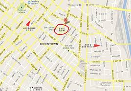 La County Map Google Maps Checks Skid Row Dtla Glosses It Over Still U2026 Trees