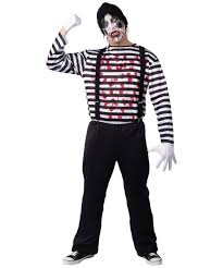 maniacal mime costume halloween costumes