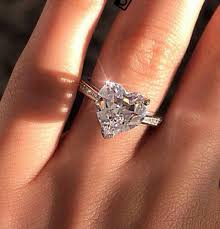 shaped engagement ring heart shaped engagement ring i like the simplicity but wouldn t