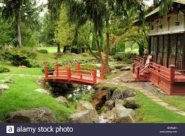 usa new york ny state canandaigua sonneberg gardens japanese