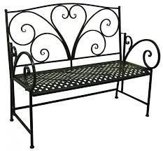 Black Iron Patio Chairs by Black Iron Heart Bench Outdoor Furniture Outdoor Chairs
