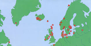 Borderless World Map by Viking Routes Destination Viking