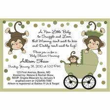 baby shower monkey baby shower invitations monkey theme boy baby showers ideas