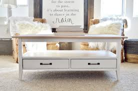 Design Your Own Coffee Table by How To Turn A U201cplain Jane Coffee Table U201d Farmhouse Style