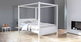 Four Post Canopy Bed Frame Four Poster Bed Summer Get Laid Beds