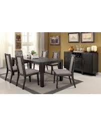 Expandable Dining Room Tables Incredible Deal On Furniture Of America Basson Rustic Grey