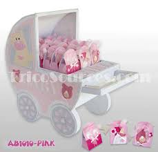 Carriage Centerpiece Trico Sources Inc Baby Shower Centerpieces Baby Stroller Party
