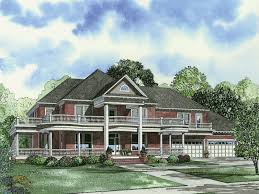 country home plans wrap around porch keaton plantation luxury home plan 055d 0745 house plans and more