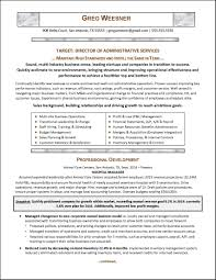 Sample Resume For Customer Service Manager by Administrative Director Sample Resume Haadyaooverbayresort Com