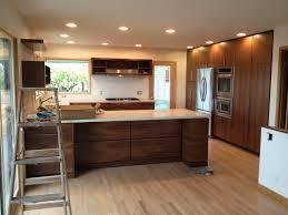 Natural Walnut Kitchen Cabinets Kitchen Decoration