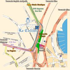 map of antibes ciaa 2005 travel information