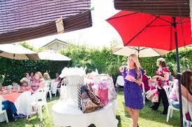 Backyard Bridal Shower Ideas Outdoor California Bridal Shower From Paige Blake Green