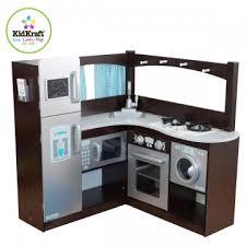 jouets cuisine jouets des bois cuisine en bois d angle expresso et argent 53302