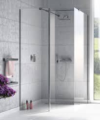 fixed shower screen corner origin walk in 11915 series