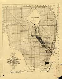 Map Of South Florida Florida Memory Land Sale Map Of South Florida 1917