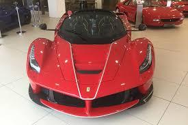 laferrari price this brand laferrari aperta has a r95 million asking price