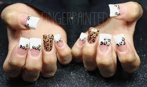 Nail Designs Cheetah Cheetah And Zebra Nail Designs Images Nail And Nail Design