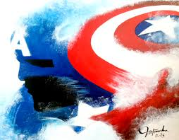 the captain america abstract u0027 by vite javier 250 20