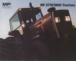 1975 massey ferguson 2800 2770 brochure farm equipment