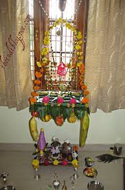 decoration for puja at home tasty healthy easy indian recipes vinayaka chavithi wishes