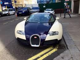 blue bugatti cream and blue bugatti veyron in mayfair london