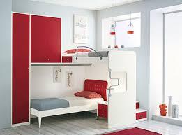 Red Kids Rug Bedroom Uber Panda Cool Kids Rugs With Two Floor Bed Wooden