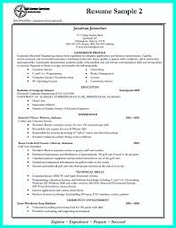 Resume Summary For College Student Best College Student Resume Example To Get Job Instantly