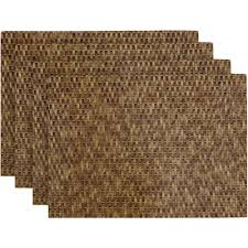 Round Straw Rug by Table Placemats Walmart Com