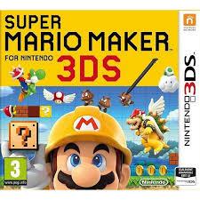 jeux de mario cuisine mario maker for nintendo 3ds 3ds sur nintendo 3ds jeux