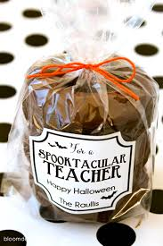 Halloween Gift Tags Spooktacular Teacher Gift Idea Teacher Gifts Pinterest