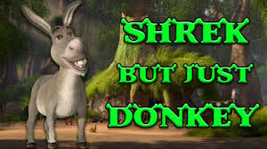 shrek movie word