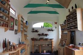 tiny house studio jumping creek pottery tiny studio