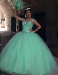 quincea eras dresses stunning mint green quinceanera dresses gown 2016