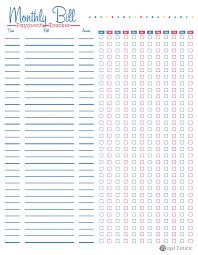 Free Printable Spreadsheets Blank Free Calendar Printable Monthly Budget 2017 Calendar Printable