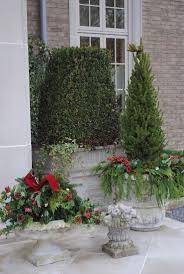Large Outdoor Christmas Decorations by Simple Design With Large Grey Tile Floor And Small Casuarina Tree