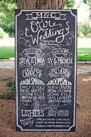 wedding program chalkboard wedding chalkboard signage custom deposit 50 00 via etsy