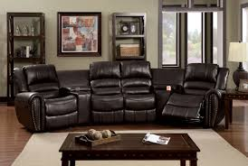 furniture faux leather sectional sectional recliners sears