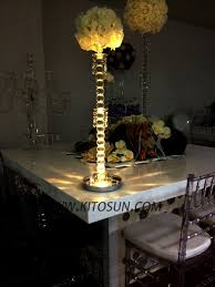 Eiffel Tower Vases Centerpieces Decorate Your Wedding With Led Candle Lights Cardinal Bridal