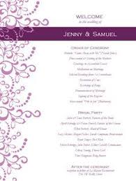 exles of wedding programs templates 18 best wedding program images on wedding programs